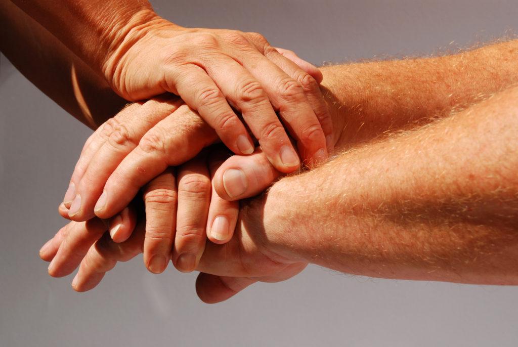 Hände Unterstützung Spenden